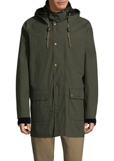 Barbour Drawstring Button Jacket