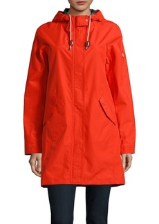Barbour Drawstring Hooded Jacket