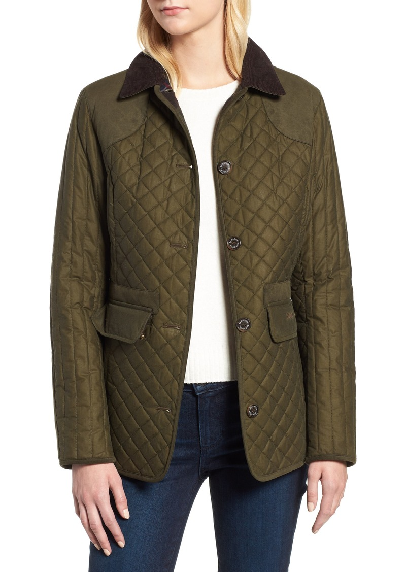 32b88662e3931 Barbour Barbour Dunnock Water Resistant Waxed Cotton Jacket Now $238.90
