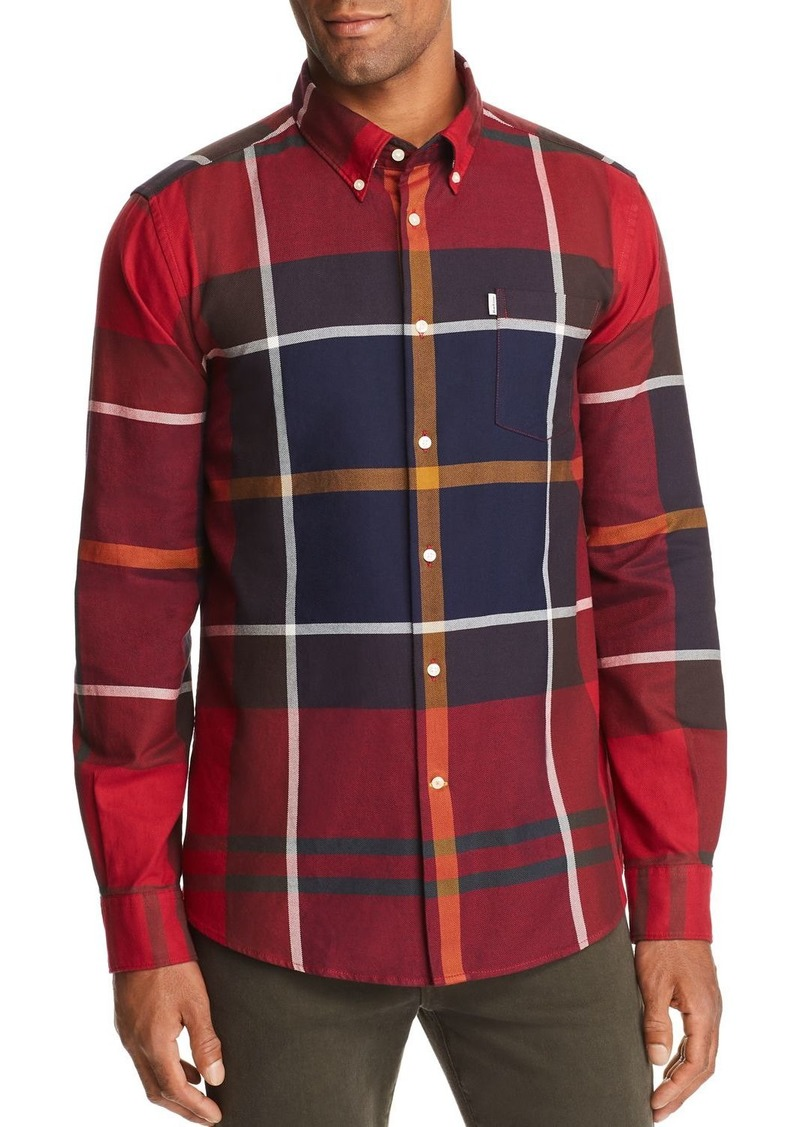 Barbour Dunoon Plaid Tailored Fit Button-Down Shirt
