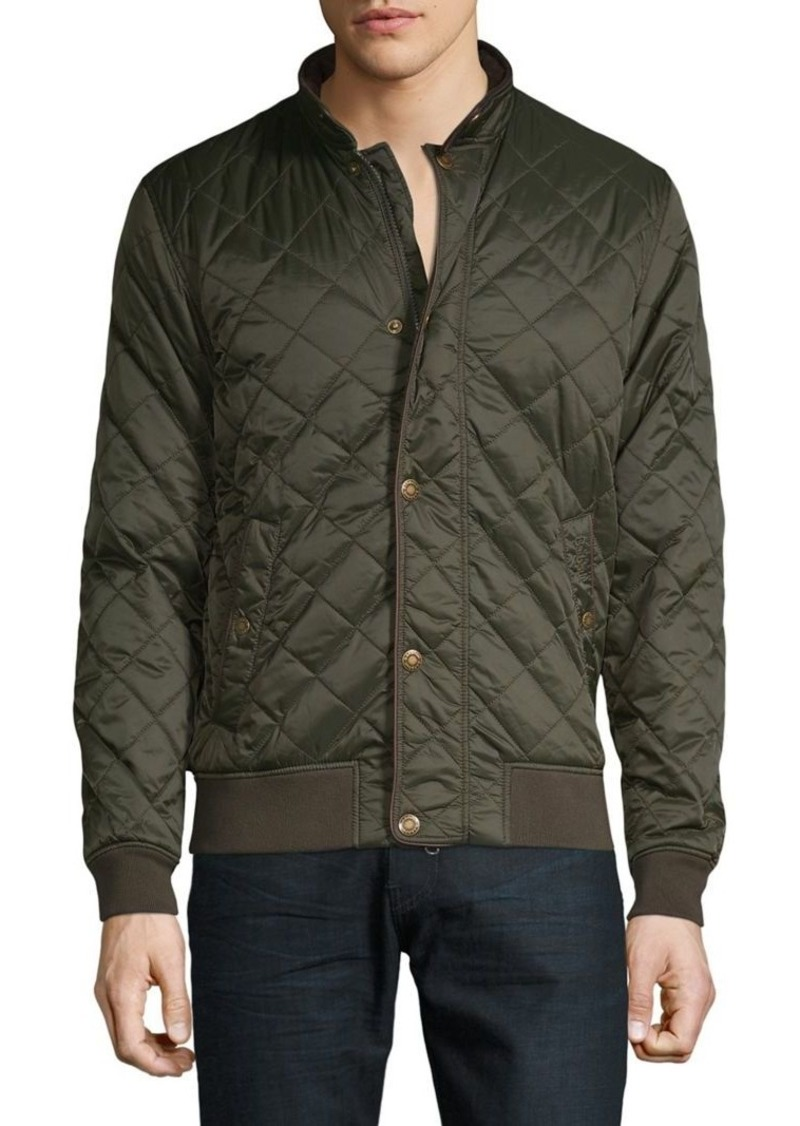 Barbour Edderton Quilted Bomber Jacket