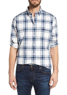 Barbour Elver Tailored Fit Plaid Sport Shirt