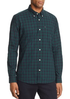 Barbour Endsleigh Gingham-Print Tailored Fit Button-Down Shirt