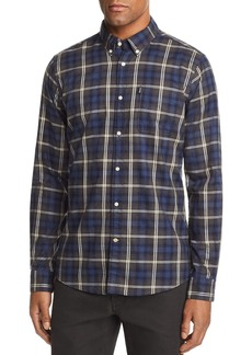 Barbour Endsleigh Highland Check-Print Tailored Fit Button-Down Shirt