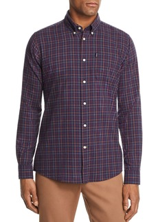 Barbour Endsleigh Tattersall Plaid Tailored Fit Button-Down Shirt
