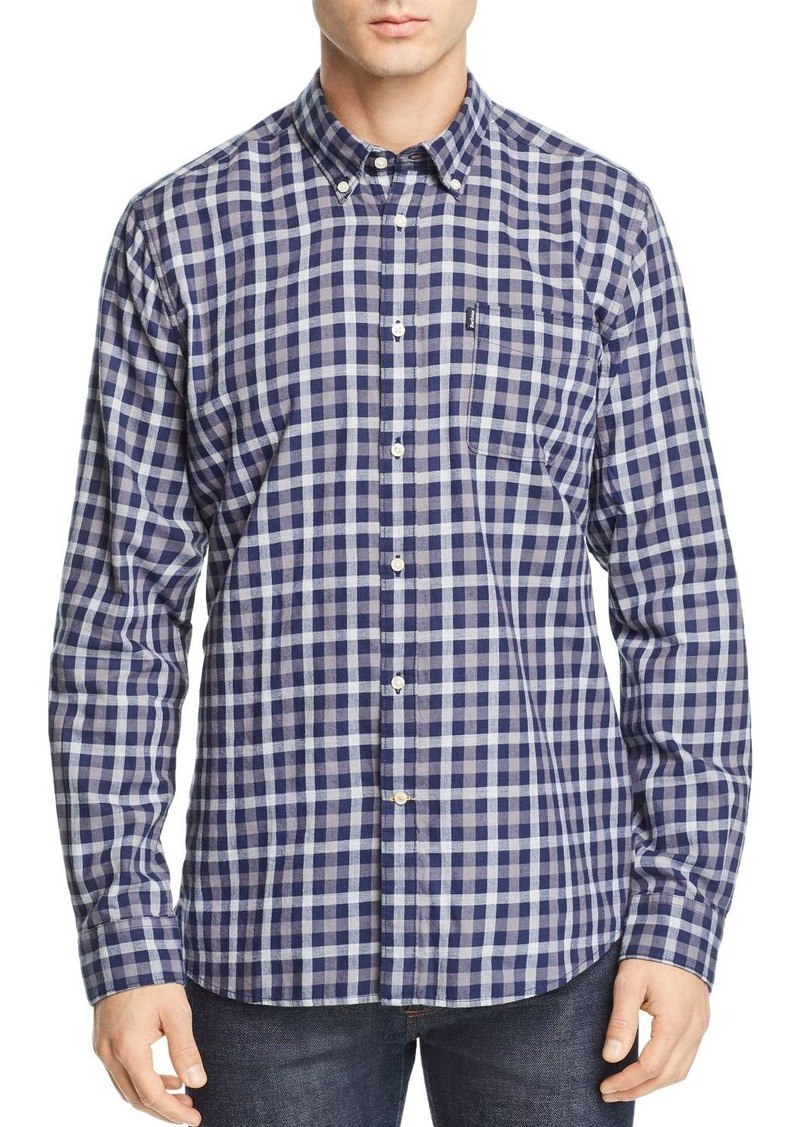 Barbour Endsleigh Twill Tattersall Slim Fit Shirt