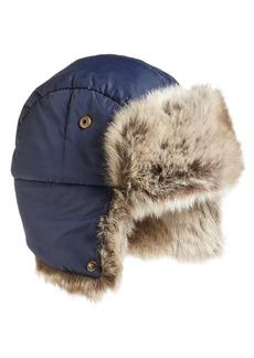 Barbour Faux Fur Trapper Hat
