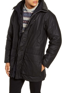 Barbour Fenton Hooded Waxed Cotton Jacket