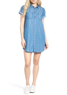 Barbour Fins Chambray Shirtdress