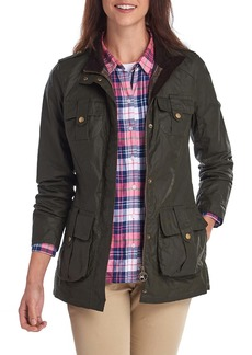 Barbour Flowerdale Water Resistant Waxed Jacket