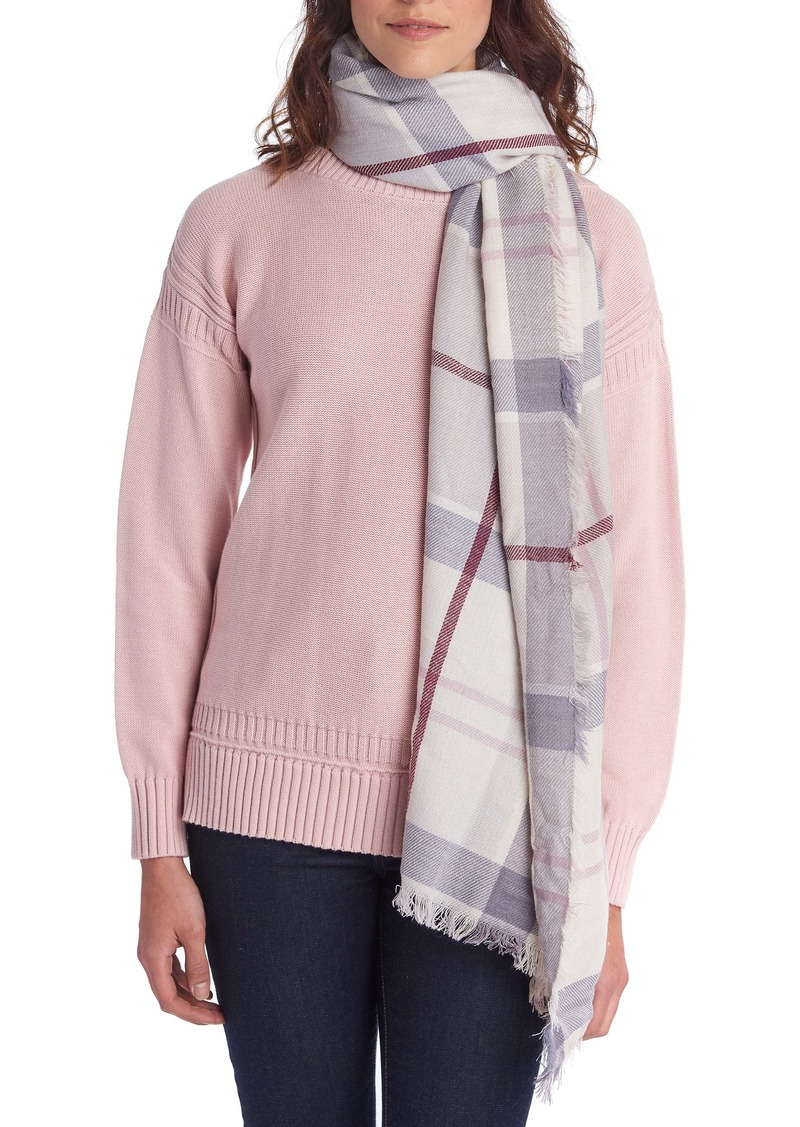 Barbour Freya Check Scarf