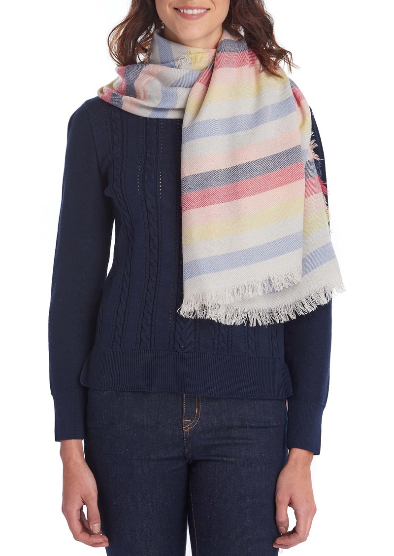 Barbour Freya Stripe Scarf