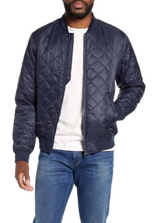 Barbour Gabble Quilted Nylon Bomber Jacket