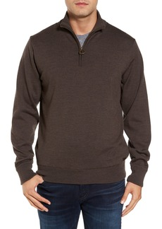 Barbour Gamlin Quarter Zip Wool Pullover