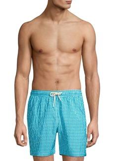 Barbour Gingham Swim Shorts
