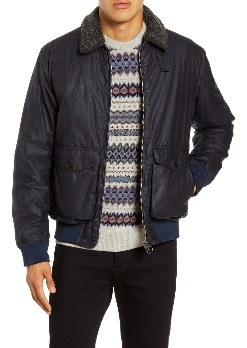 Barbour Goosall Water Resistant Waxed Cotton Jacket