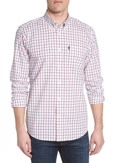 Barbour Henry Trim Fit Check Long Sleeve Sport Shirt