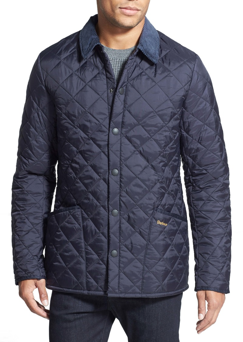 Barbour Heritage Liddesdale Regular Fit Quilted Jacket