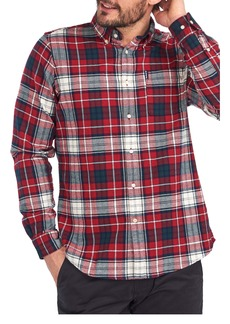 Barbour Highland Check 34 Plaid Button-Down Shirt