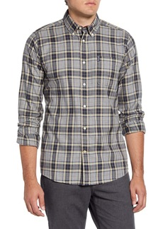 Barbour Highland Tailored Fit Check Button-Down Shirt