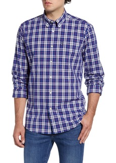Barbour Highland Tailored Fit Plaid Button-Down Shirt