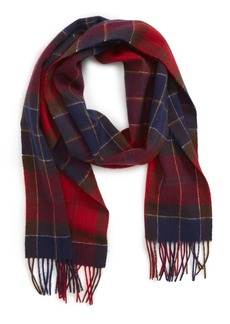 Barbour Holden Tartan Plaid Scarf