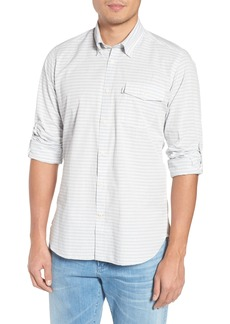 Barbour Huchen Regular Fit Stripe Sport Shirt