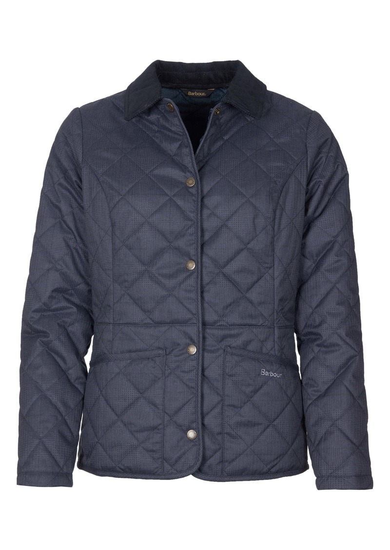 Barbour Huddleson Plaid Quilted Jacket
