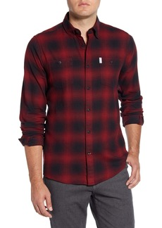 Barbour Hurst Plaid Tailored Fit Button-Down Shirt