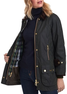 Barbour Icons Beaufort Waxed Cotton Rain Jacket