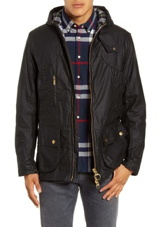 Barbour Icons Durham Waterproof Hooded Raincoat