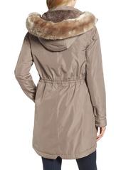 Barbour Imatra Waterproof Jacket with Faux Fur Trim