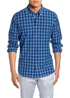 Barbour Indigo 6 Tailored Fit Print Button-Down Shirt
