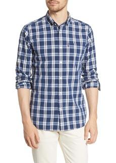 Barbour Indigo 8 Tailored Fit Plaid Button-Up Shirt