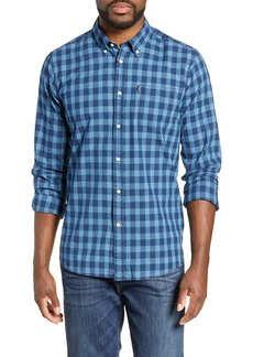 Barbour Indigo Tailored Fit Check Shirt