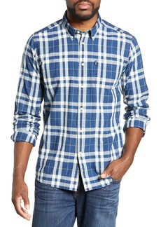 Barbour Indigo Tailored Fit Plaid Shirt