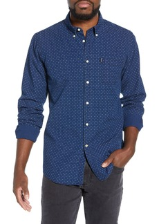 Barbour Indigo Tailored Fit Print Shirt