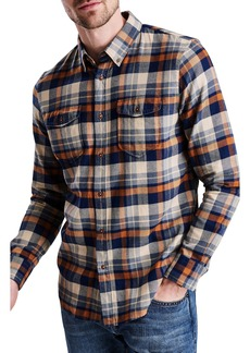 Barbour International Cutter Flannel Shirt