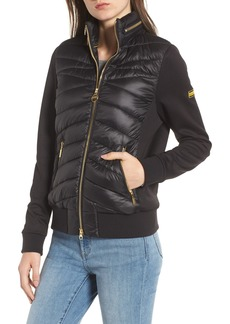 Barbour International Grandstand Hybrid Quilted Jacket