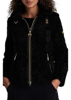 Barbour International Langstone Faux Fur Coat