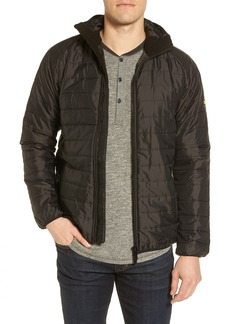 Barbour International Level Slim Fit Quilted Hooded Jacket
