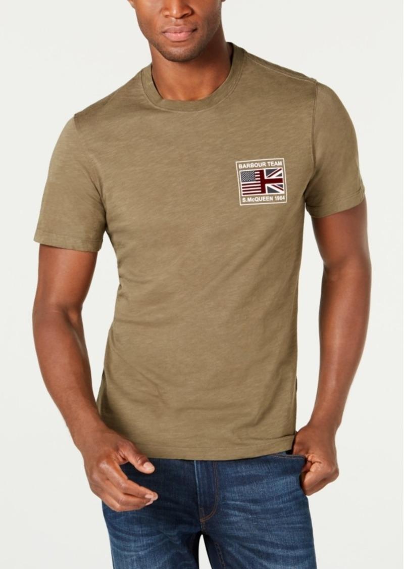 Barbour International Steve McQueen Men's Flag T-Shirt, Created For Macy's