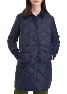 Barbour Jedburgh Diamond Quilted Coat