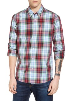 Barbour Jeff Trim Fit Plaid Sport Shirt