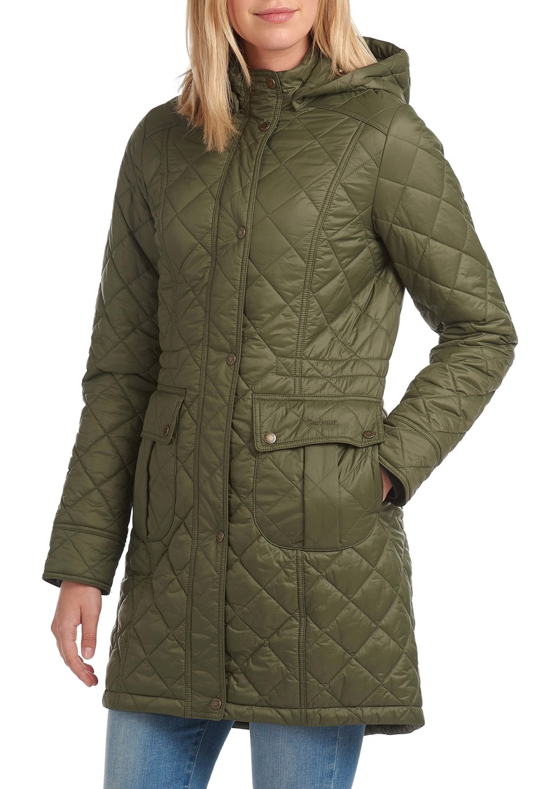Barbour Jenkins Quilted Hooded Parka