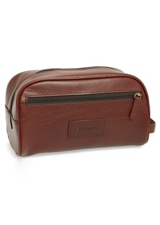 Barbour Leather Travel Kit