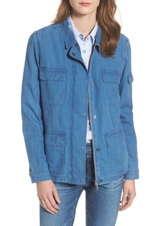 Barbour Littlehaven Relaxed Fit Denim Overshirt