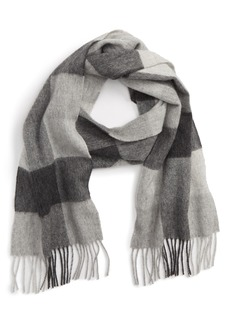 Barbour Lockton Check Merino Wool & Cashmere Scarf