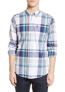 Barbour Madras 7 Tailored Fit Button-Down Shirt