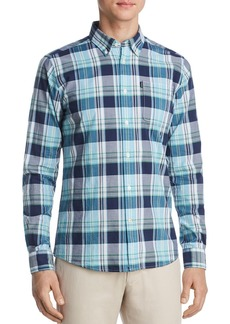 Barbour Madras Slim Fit Button-Down Shirt